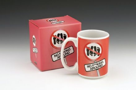 No F**king Around Novelty Mug